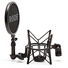 RØDE SM6 Microphone Shock Mount with Integrated Pop Shield