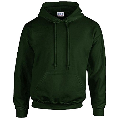 Gildan - Unisex Kapuzenpullover \'Heavy Blend\' , Forest Green, Gr. 5XL