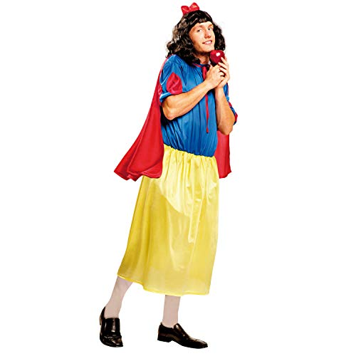 My Other Me Me - Disfraz de Blancanieves para hombre, talla M-L (Viving Costumes MOM01351)