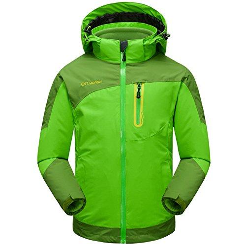 3 in 1 Jacke Kinder Softshelljacke Wasserdicht Funktionsjacke Jungen Mädchen Outdoorjacke Doppeljacke Winter Skijacke
