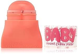 Maybelline New York Baby Skin Instant Cheek Flush Blush, Pop of Peach, 0.16 Ounce