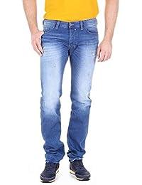 3a3cbf43 Diesel Mens Safado 00C03G Jeans Slim Straight 0830W Blue Size 30W32L