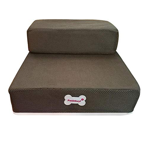 Pieghevole Pet Dog Cat Scale Passi per Cane di Piccola Taglia Traspirante Mesh Dog Cuscino Letto Passi Rampa con Coperchio Staccabile Pet Prodotto