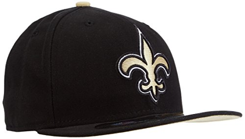 New Era Baseball Cap Bonnet pour Adulte NFL New on Field Orlean 59 Fifty Fitted Saints