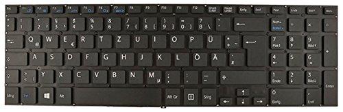 NExpert Orig. QWERTZ Tastatur für Sony Vaio FIT SVF15E SVF-15E SVF152C SVF152A schwarz DE ohne Backlit Neu