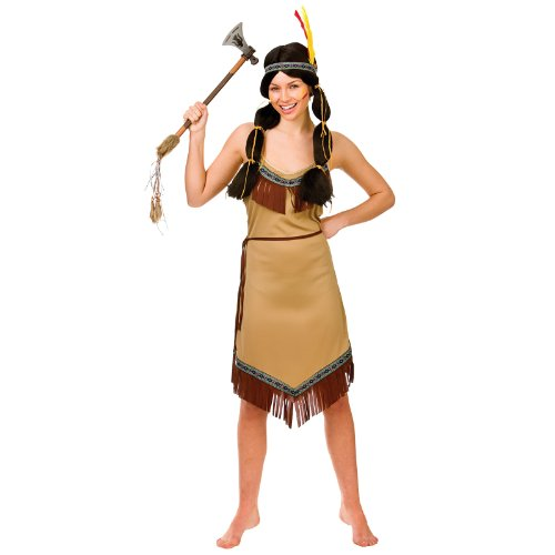 Wicked - Déguisement Costume Indienne Pocahontas Femme - Taille S