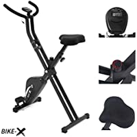 Esprit BIKE-X Fitness Magnetic Exercise Bike Foldable Fitness Cardio Workout Weight Loss Machine
