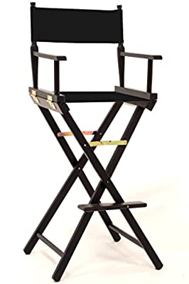Makeup Artists Chair with Free Personalisation - Black - cheap UK light store.