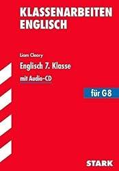 Klassenarbeiten Englisch / Englisch 7. Klasse: Mit Audio-CD. von Cleary, Liam (2013) Taschenbuch