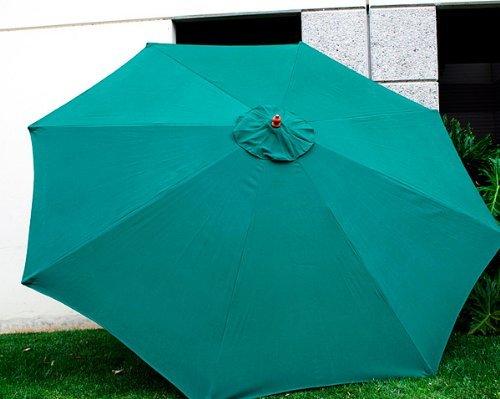 MTN Gearsmith Neue Ersatz-Bespannung für 9ft, 8Streben, Farbe: Grün (nur in Farbe) (9 Ft Sonnenschirm)