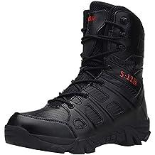 Botas de montaña Impermeables para Hombre,ZARLLE Zapatos Botas de Senderismo para Hombre Zapatos de