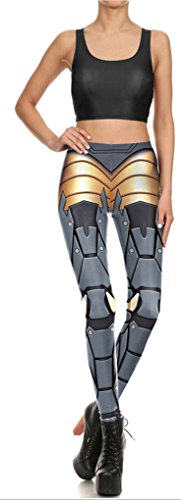 Belsen - Legging - Femme multicolore Drop M M
