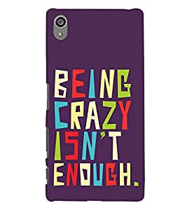 Life Quote 3D Hard Polycarbonate Designer Back Case Cover for Sony Xperia Z5 Premium (5.5 Inches) :: Sony Xperia Z5 Premium Dual