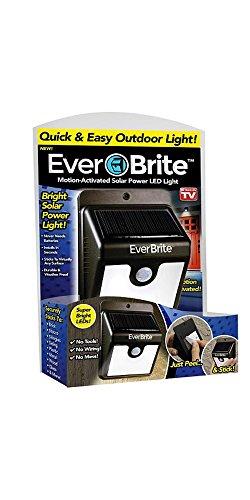 Everbrite, das Original aus dem TV. Lichterkette LED Solar Außenbeleuchtung Energiespar. Der Lichtsensor aktiviert die Licht nur wenn ist Nacht und schaltet die während der Tag