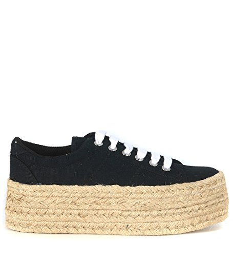 Sneaker bassa JC Play by Jeffrey Campbell Zomg in canvas nero Nero