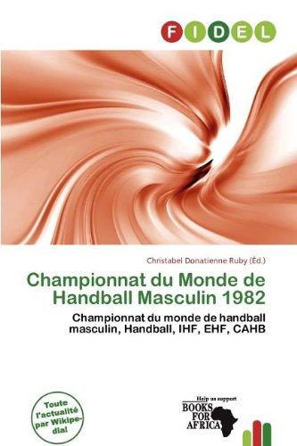 Championnat Du Monde de Handball Masculin 1982