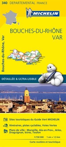 Descargar Libro Carte Bouches-du-Rhône, Var Michelin de Collectif Michelin