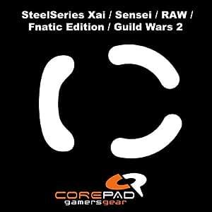 Corepad Skatez - Patins Teflon - Souris Pieds - Pro 18 - SteelSeries XAI - SteelSeries Sensei