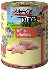 MACs Katze Kitten Pute & Kaninchen | 6x800g Nassfutter