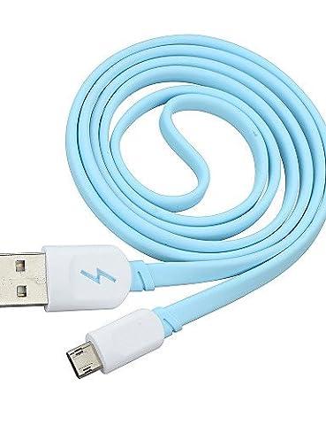 KLDZIDNI kann positiv oder Rückseite Einsatz Micro-USB-Daten-Synchronisierungs / Ladekabel für