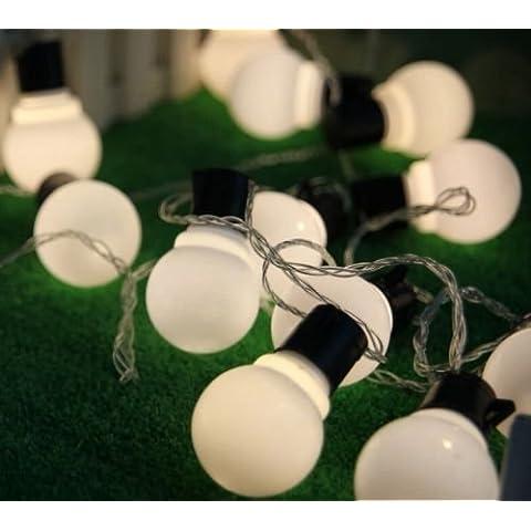 5m impermeabile 20palline LED String luci Party Matrimonio Natale Outdoor (Jar Kitchen Decor)
