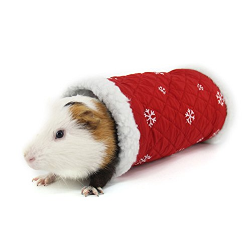 Cheerfulus Nid Oiseaux de Noël Domestique Hamster Chinchilla Maison Lit  Écureuil Rat Lapin Cochon d  1b4d452f4ba1