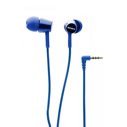 Sony MDR-EX150AP In-Ear Headphones with Mic (Darkish Blue) Image 3