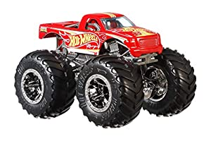 Hot Wheels - Monster Trucks Vehículo 1:64 de carreras, coches de juguetes (Mattel GJY15)