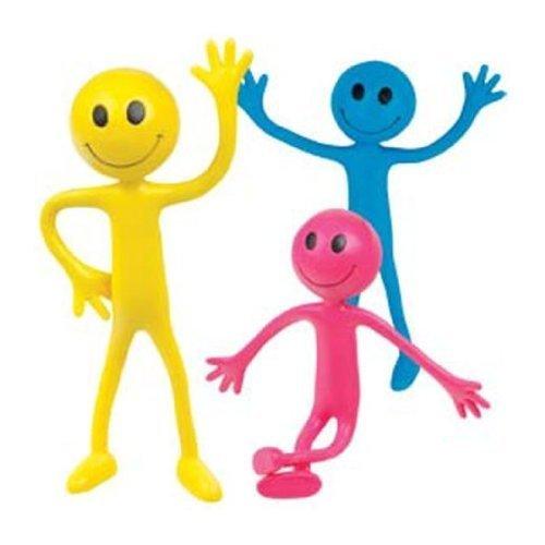 3x-Flexible-SMILERS-rosa-amarillo-Azul