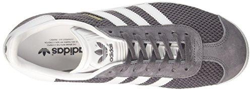 adidas Unisex-Erwachsene Gazelle Sneaker Grau (Trace Grey/footwear White/trace Cargo)