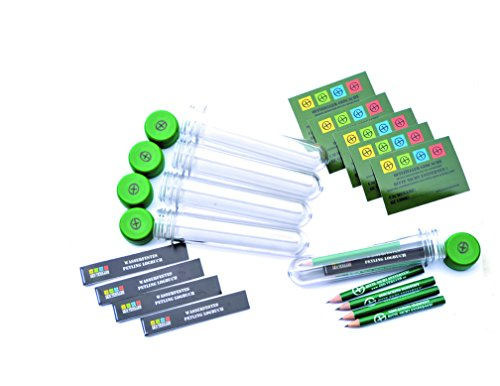 5x-pet-preforms-13-cm-for-use-as-a-geocache-container-with-log-book-pencil-and-sticker-green