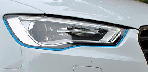 ufkleber Stripes in hellblau, passend für Ihr Fahrzeug ()
