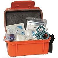 BKL1® Camping First Aid Kit Wasserdicht Orange Erste Hilfe Set mit Transportbox 1439 preisvergleich bei billige-tabletten.eu