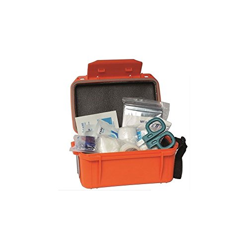 BKL1® Camping First Aid Kit Wasserdicht Orange Erste Hilfe Set mit Transportbox 1439