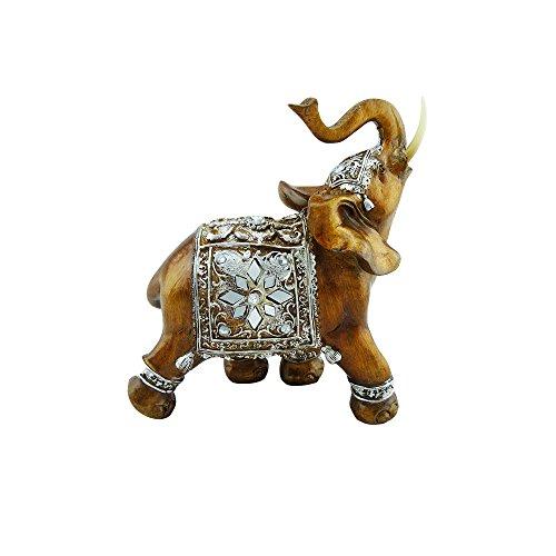 Elefant Mit Reiter Ca 17cm Hoch Cheap Sale Antike Bronze Indien
