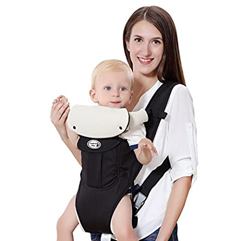 Lifewit Baby Carrier Soft Front baby Backpack 5 Carrying Positions