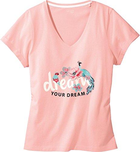 ESMARA® Lingerie Damen Schlafshirt