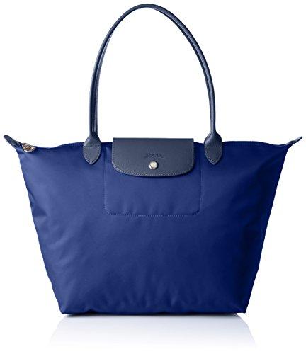 Longchamp Damen Le Pliage Neo Tote Bag, Blau (Navy), 19x30x31 cm