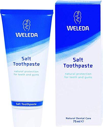 Zahnstein-schutz (WELEDA Sole Zahncreme, fluoridfreie Naturkosmetik Zahnpasta zur Vorbeugung von Karies und zum Schutz der Zähne vor schädlichen Säuren und Zahnstein (1 x 75ml))