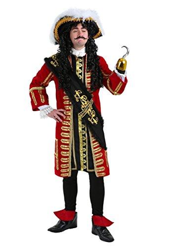 Elite Captain Hook Fancy Dress Costume X-Large