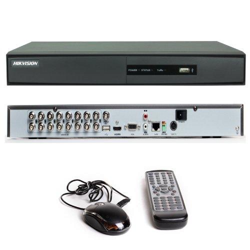 16CANALES HIKVISION CCTV DVR DS-7216HWI-SH H 264HDMI GRABADOR DE VIDEO DIGITAL DE INTERNET CON 500GB DISCO DURO