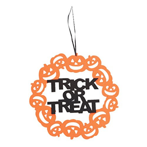 Happy Halloween Anhänger Requisiten Kürbis Hängende Zeichen Home Party Decor Craft Supply