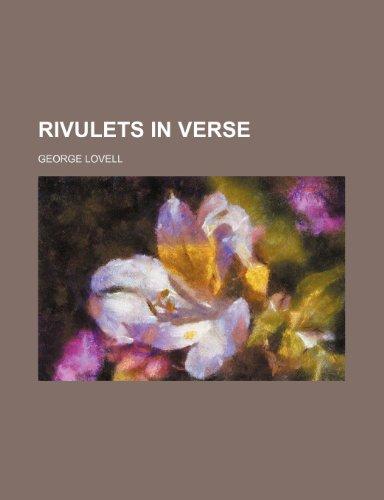 Rivulets in Verse