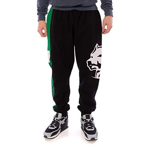 Amstaff Herren Jogginghose Dozer, Größe:S, Farbe:grün/schwarz/weiß