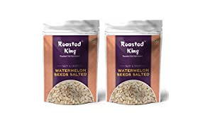 Roasted King Water Melon Seeds Salted |300 g |Combo Pack of 2|