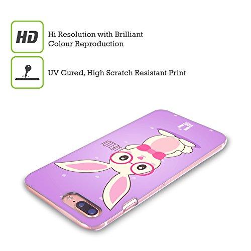 Head Case Designs Piastrelle Sofie Il Coniglietto Cover Retro Rigida per Apple iPhone X Geeky