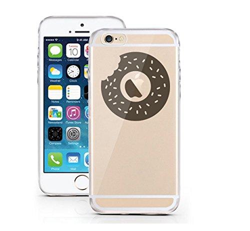 "licaso®iPhone 6 6S 4,7"" PC Hard Case Hülle Disney Case transparent klare Schutzhülle Disney Hülle iphone6 Tasche Case (Atom) Donut"