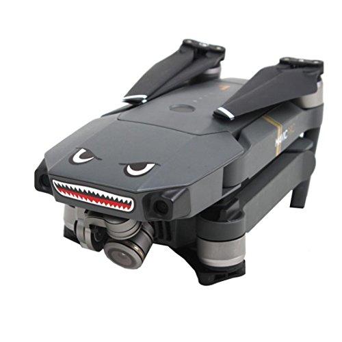 Licht-haut-ton-foto (DJI Mavic Pro Aufkleber Haifisch Dekoration Wasserdichte Abziehbild Haut Aufkleber Hai Muster Aufkleber für DJI Mavic Pro RC Drone)