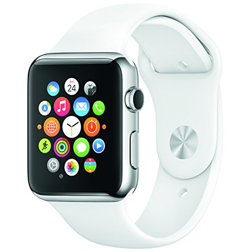 Apple Sports Watch aluminium case 38MM white colour