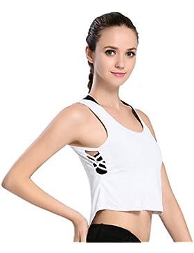 Motorun Mujeres Camiseta Chaleco Sin Mangas Chaleco de Delgado Camisetas Tank Top